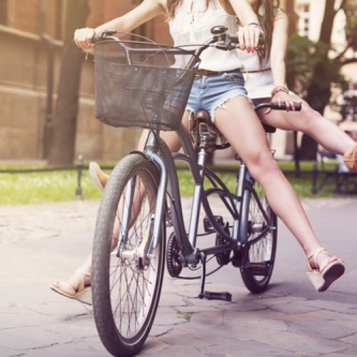 Single Parenting: Going it Alone Uphill on a Bike Built for Two…